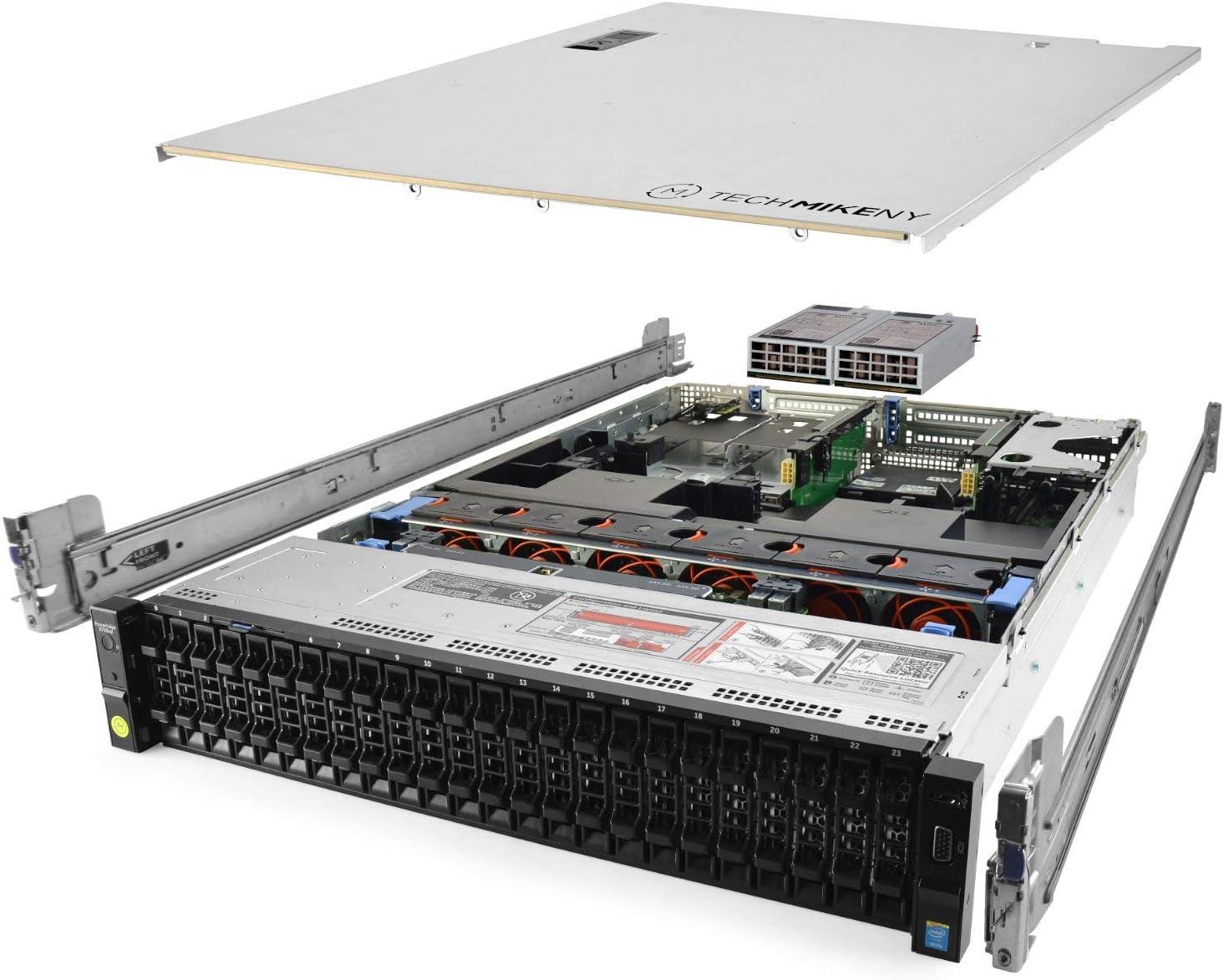 TechMikeNY Server 2X E5-2680v3 2.50Ghz Rails Sale Special Max 48% OFF Price 256GB H730 24-Core