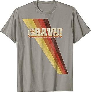 Gravy! Seventies 70's T-Shirt Cool Vintage Retro Style