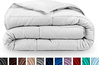 Bare Home Comforter/Duvet Insert - Twin/Twin Extra Long - Goose Down Alternative - Ultra-Soft - Premium 1800 Series - Hypoallergenic - All Season Breathable Warmth (Twin/Twin XL, White)