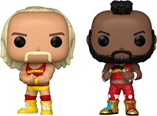 Funko Pop! WWE - Hulk Hogan & Mr. T, Hulkamania 2 Pack, Amazon Exclusive (51720)