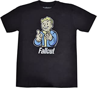 Fallout Men's Vault Boy Black T-Shirt