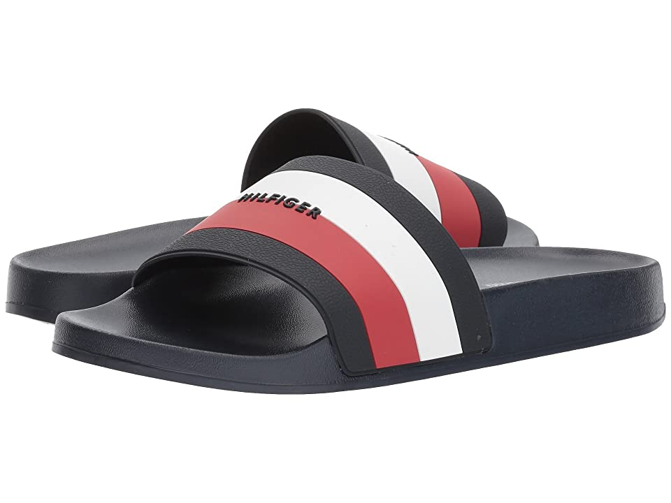 Tommy Hilfiger Dria (Navy/Chili Pepper/White) Women