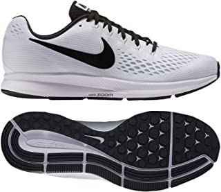 Air Zoom Pegasus 34 TB 887009-100 White/Black Men's Running Shoes