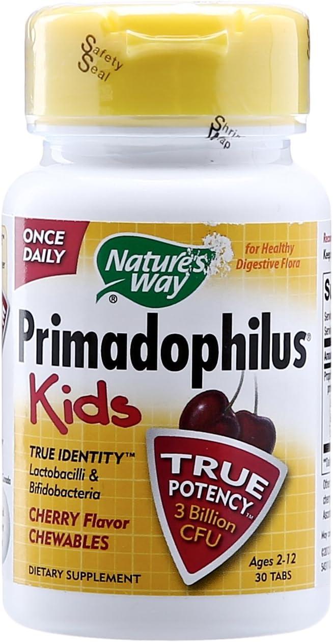 New San Antonio Mall York Mall Nature's Way Primadophilus Kids Cherry ct Chewable Flavor 30