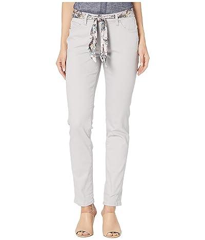 Jag Jeans Carter Girlfriend Jeans with Satin Belt (Raindrop) Women