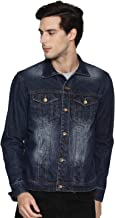Ojass Full Sleeve Self Design Men Denim Jacket