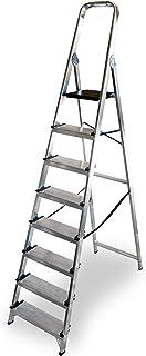 ALTIPESA - Escalera Doméstica de Aluminio, Peldaño 12 cm. (8 peldaños)