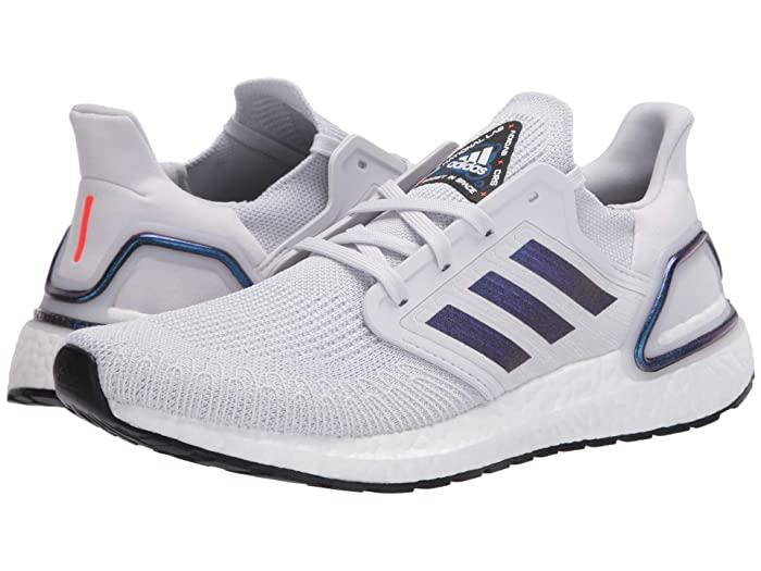 adidas Running  Ultraboost 20 (Dash Grey/Boost Blue Violet Metallic/Core Black) Womens Running Shoes