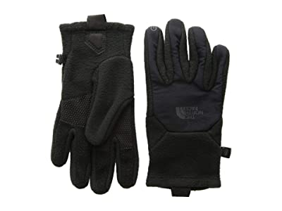 The North Face Kids Denali Etiptm Gloves (Big Kids) (TNF Black) Extreme Cold Weather Gloves