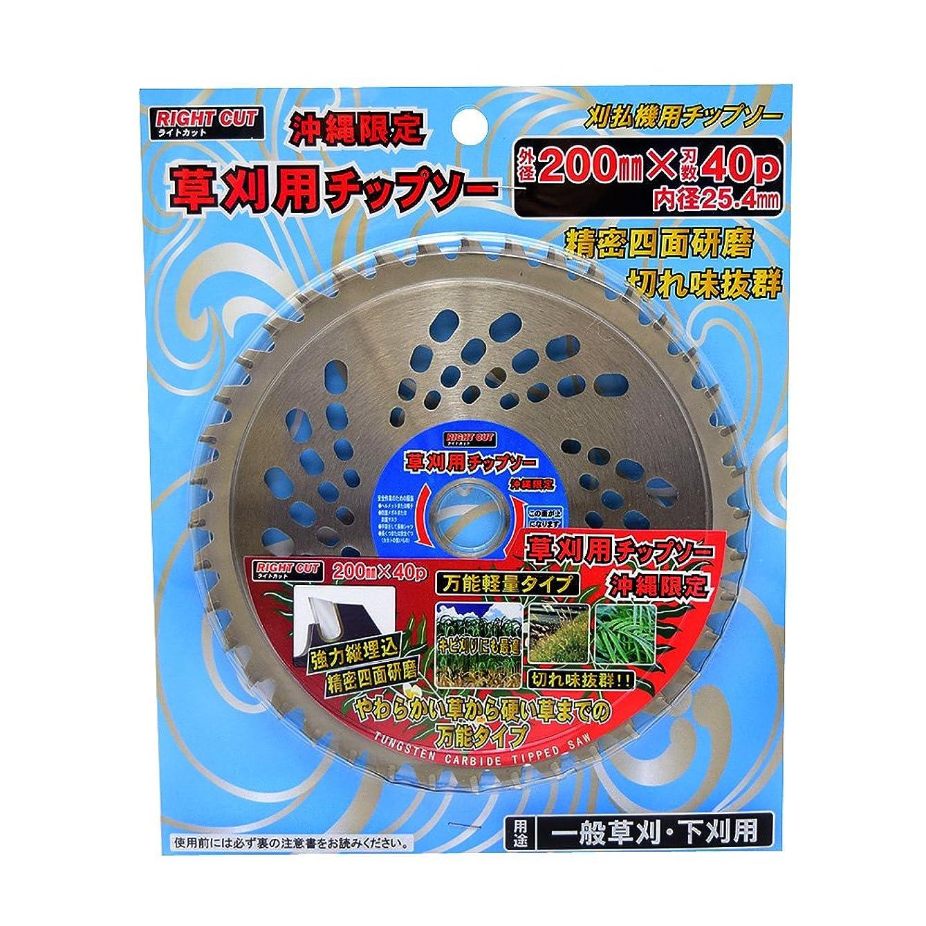 手術学んだ可決ハートフル?ジャパン HJ草刈チップソー(キビ用)200mm×40P