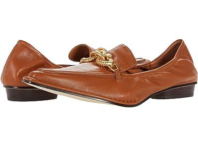 Tory Burch Jessa Pointed Loafer (Cinnamon Brown/Cinnamon Brown) Women