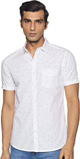 Byford By Pantaloons Men's Slim Fit Casual Shirt