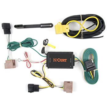 Amazon.com: CURT 56048 Vehicle-Side Custom 4-Pin Trailer Wiring Harness for  Select Ford Fusion: AutomotiveAmazon.com