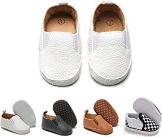 Baby Boys Girls Shoes Newborn Infant Toddle Slip-on Sneakers Soft Sole First Walkers Flat Boat Shoes