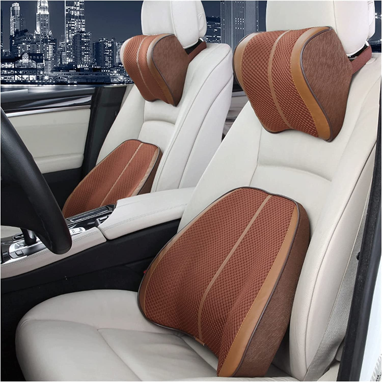 QSWL Lumbar Support Cushion Memory 1 year warranty Pillows Foam 67% OFF of fixed price N BackCar