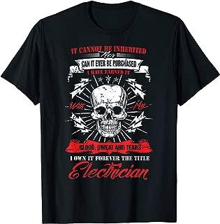 Best union electrician t shirts Reviews