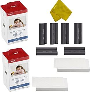 $64 » Canon KP-108IN 3 Color Ink Cassette and 216 Sheets 4 x 6 Paper Glossy For SELPHY CP1300, CP1200, CP910, CP900, CP760, CP770, CP780 CP800 Wireless Compact Photo Printer (2-Pack)
