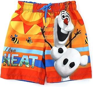 Frozen Boys I Love Heat Olaf Swim Trunks