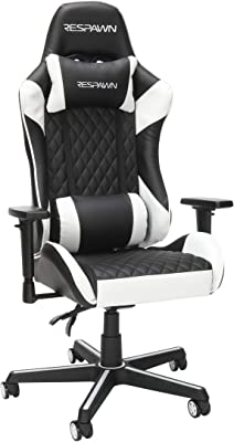 RESPAWN RSP-100 Racing Style Gaming Chair, White