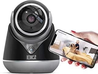 WiFi Full HD 3.0MP Pet Camera with Night Vision, 2-Way Audio, Motion Detection, Pan/Tilt, Smart IP Home Camera, Multiuse f...