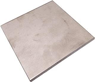 4mm x 100mm x 100mm Titanium Plate Ti Titan TC4 Gr5 Plate Sheet Foil