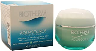 Biotherm Aqua Source 48hr Continuous Release Hydration Cream, Normal/Combination Skin, 1.69 Ounce