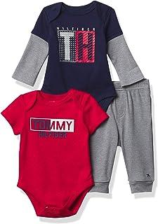 Baby Boys' 3 Pieces Bodysuit Pants Set