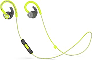 JBL Reflect Contour 2 Wireless Sport in-Ear Headphones with Three-Button Remote and Microphone - Green
