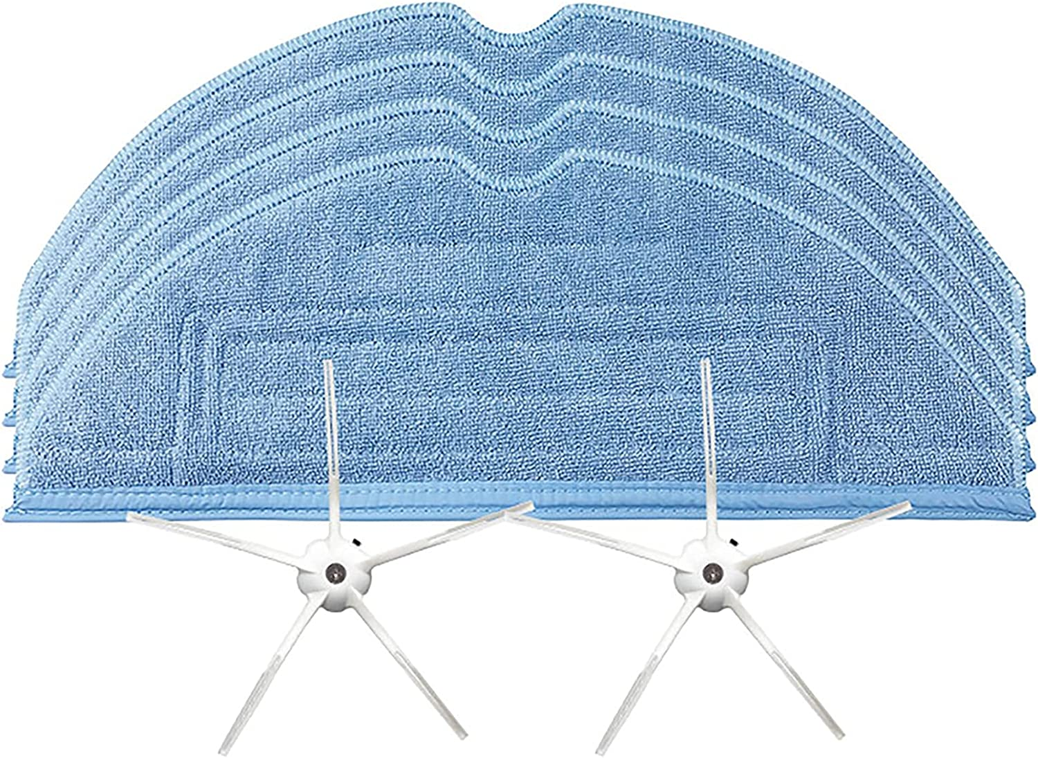 HUAYUWA 67% OFF of fixed price 100% quality warranty! 4 Pack Mop Cloth Cleaning Pads 2 with Pentagon Head