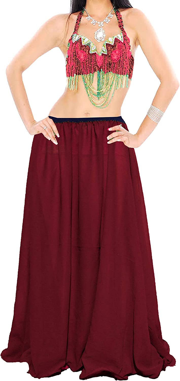 Meek Mercery Casual Wear Belly Dance Pleated Short Skirt Chiffon Short Skirt One Size C12