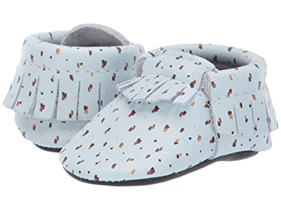 Freshly Picked Confetti Moccasin (Infant/Toddler) (Mint/Navy) Kid
