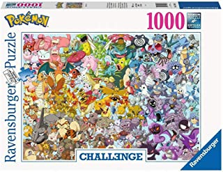 Ravensburger 15166 Pokemon 1000pc Challenge Jigsaw Puzzle,