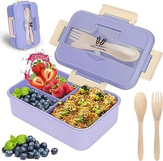 Sinwind Bento Box, Lunchbox Kinder, Brotdose mit Fächern, b
