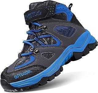 Boys Snow Boots Winter Waterproof Antiskid Boots Hiking...