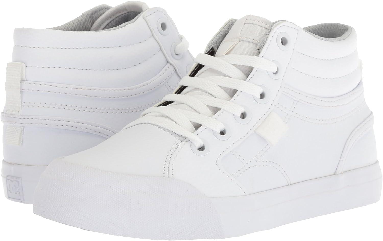 DC Unisex-Child Youth Evan Hi Skate Shoes
