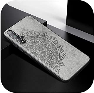 for Honor 9A 9C 20S 20 Lite 9A 9X 8Xケースの耐衝撃性バンパーfor Huawei P40 P30 Pro Lite Y9s Y6s Y7P Nova 5Tシリコーン&PCカバー-Gray-for Huawei...