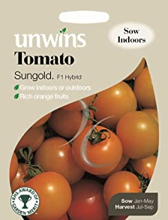 unwins pictorial Packet - Vegetable - Tomato sungold f1-8 Seeds