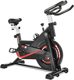 RELIFE REBUILD YOUR LIFE Exercise Bike Indoor Cycling Bike Fitness Stationary All-inclusive Flywheel Bicycle with Resistan...