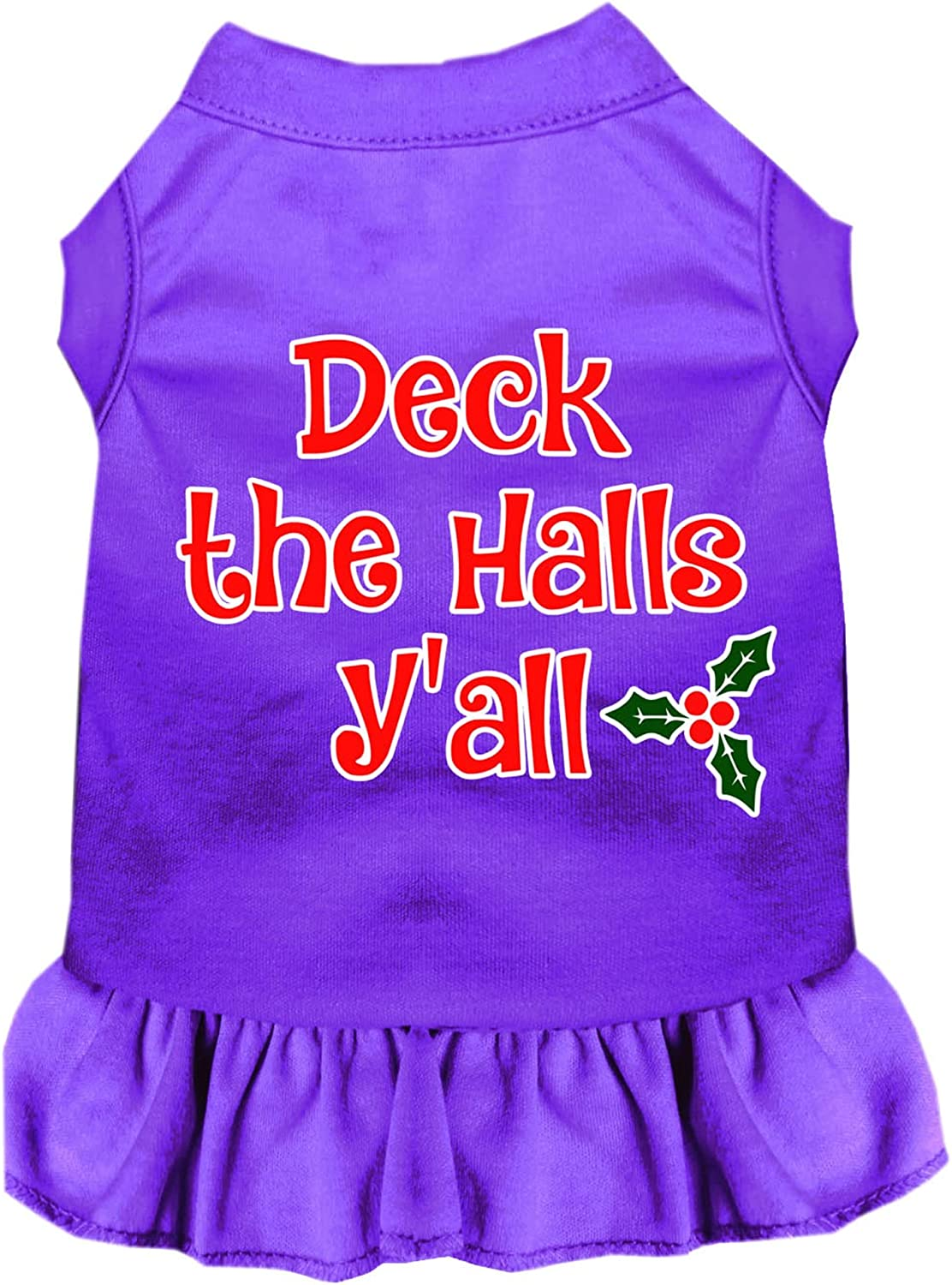Mirage Spasm price Pet New sales Product Deck The Halls Dress Y'all Print P Dog Screen