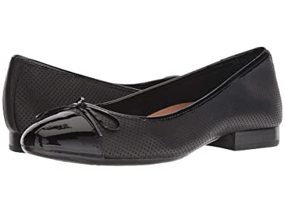 Aerosoles Outrun (Black Leather) Women