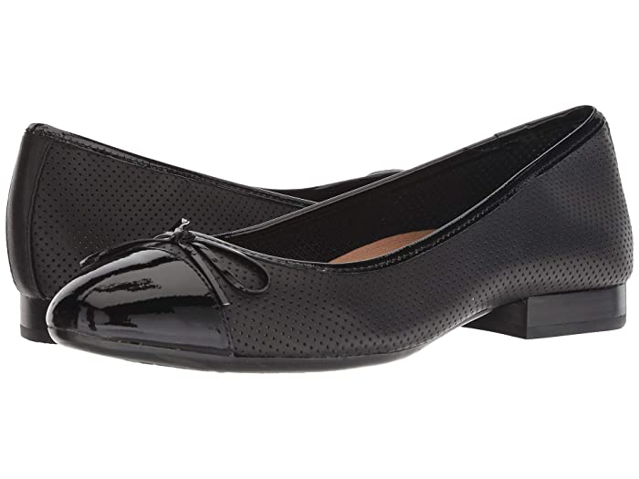 Aerosoles  Outrun (Black Leather) Womens  Shoes