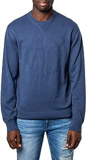 Luxury Fashion | Armani Exchange Mens 8NZM3DZM8CZBLUE Blue Sweatshirt | Fall Winter 19