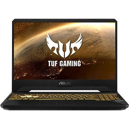 "ASUS TUF Gaming FX505GT-BQ108 - Ordenador Portátil de 15.6"" FullHD (Intel Core i5-9300H, 16GB RAM, 512GB SSD, NVIDIA GTX1650-4GB, Sin Sistema Operativo) Negro Sigilo - Teclado QWERTY español"
