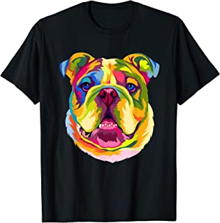Bouledogue anglais de style polygone Sweatshirt