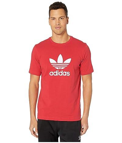 adidas Originals Trefoil Tee (Lush Red) Men