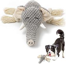 اسباب بازی های مخمل خواب دار KOL سگ اسباب بازی های حیوان خانگی را با کاغذ چین دار ، اسباب بازی های تعاملی ، جویدنی و بادوام برای سگهای توله سگ و سگ های متوسط می جوید.