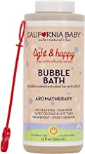 product image for California Baby Light and Happy Bubble Bath | No Tear | Pure Essential Oils for Bathing | Hot Tubs, or Spa Use | Moisturizing Organic Aloe Vera and Calendula Extract |(13 fl. ounces)