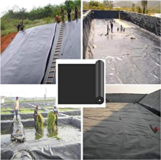 BAIYING Pool Membrane, Fish Pond Liners Heavy Duty, Anti-Seepage Puncture Resistant Easy To Store Pond Underlay, River Slo...