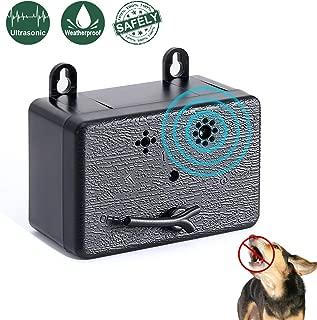 PetUlove Ultrasonic Dog Anti Barking Device,Bark Control Device,Stop Barking,Outdoor Sonic Bark Deterrents No Bark Silencer