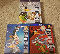 LOONEY TUNES Platinum Collection Vol. 1, 2, 3 (8-disc Blu-ray) [Authentic US Release]